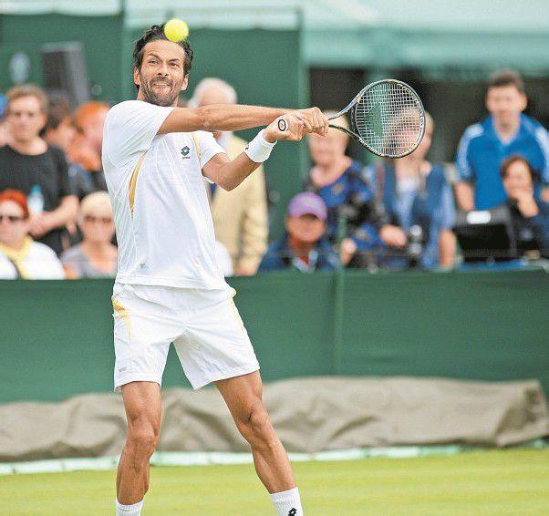 Hat sich in Wimbledon gut verkauft: Julian Knowle. Foto: gepa