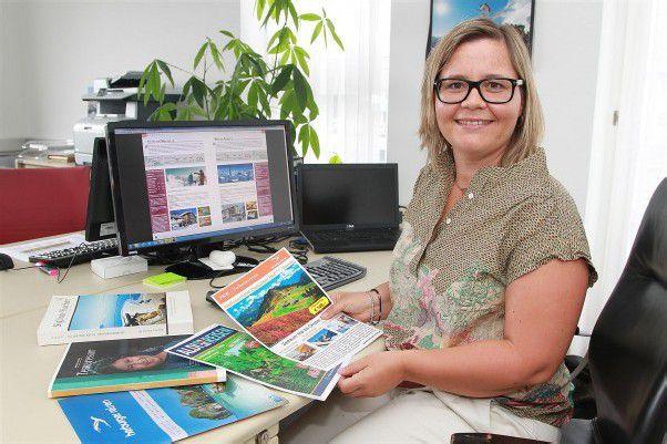 Heidi Österle arbeitet mit ihrem Team ausschließlich Business to Business. fotos: vn/hofmeister