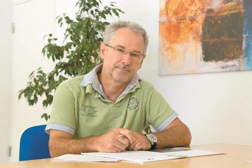 Helmut Jäger liegt die Jugend und deren fundierte Ausbildung am Herzen. Foto: VN/Paulitsch