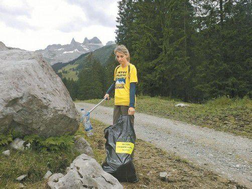 Immer wieder lassen Wanderer Müll zurück. Foto: Verein