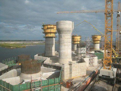 Insgesamt werden 16 Betonfundamente in Zeebrügge gegossen. Foto: RSB