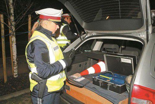 Insgesamt zehn alkoholisierte Fahrzeuglenker wurden in Dornbirn überführt. Foto: VN