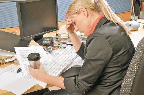 Invaliditätspension: bei 54 Prozent der Unter-50-Jährigen psychische Gründe wie Burn-out. Foto: Fotolia
