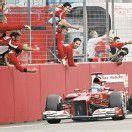 Alonso war einsame Klasse