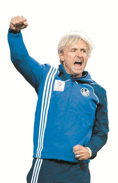 Jubelte: Heinz Fuchsbichler. gepa