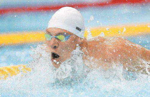 Kämpft auf der Delfinstrecke um eine Medaille: Dinko Jukic. Foto: apa