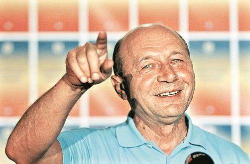 Kämpft seit Jahren um sein Amt: Präsident Basescu. Foto: Reuters