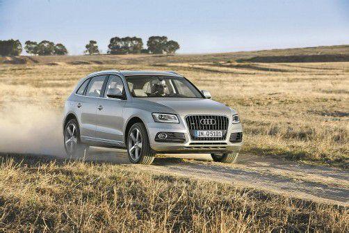 Kaum verändert, nur verbessert: Die VN sind den neuen Audi Q5 gefahren. Marktstart ist der 14. September. Fotos: werk