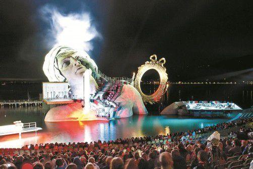 Kulturelles Zugpferd: Die Bregenzer Festspiele haben sich für den heimischen Tourismus zu einer wichtigen Attraktion entwickelt.