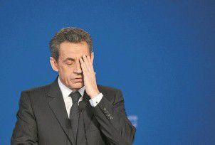 Razzia in Sarkozys Haus
