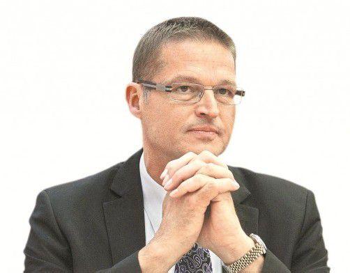 """LR Bernhard: """"Den Schmarren hatten wir wirklich nicht notwendig."""" Foto: VN/Paulitsch"""