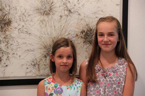 Lisa und Amelie Walla sind zwölf und neun Jahre alt und leben in Feldkirch. FotoS: A. Grabher