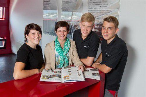 Mag. (FH) Angelika Alfare ist im Unternehmen für die Lehrlingsausbildung zuständig. Foto: VN