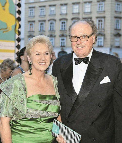 Maria Rauch-Kallat mit Ehemann Mensdorff-Pouilly. Foto: APA