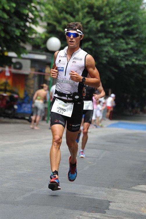 Mario Erath belegte Rang zwei in der Kategorie M25. Foto: privat