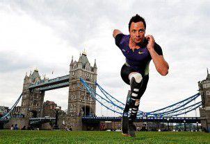 Oscar Pistorius steht im Team für London