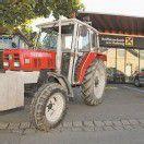 Duo wollte mit Traktor einen Bankomaten rauben