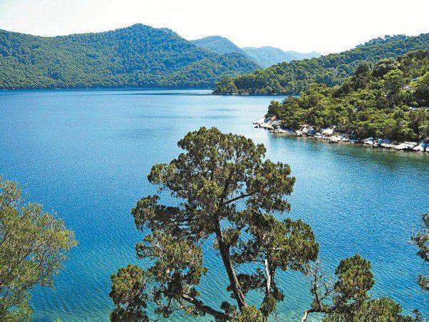 """Mljet ist Kroatiens """"grüne Insel"""" – Wälder, so weit das Auge reicht. srt"""