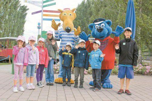 Nach dem Blick hinter die Kulissen ging es für die Kindertraum-Gewinner zum ausgiebigen Toben ins Spieleland.