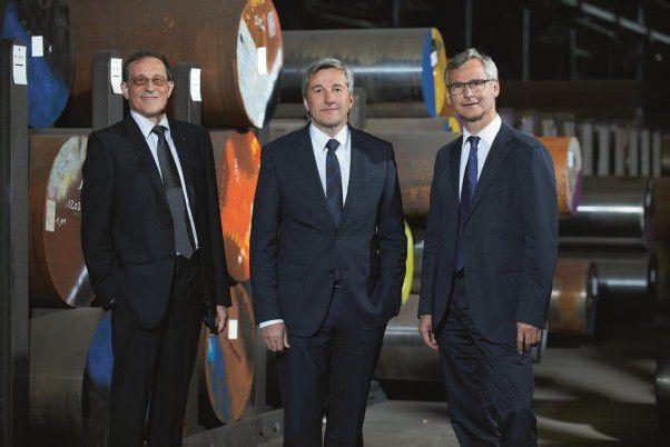 Neue Geschäftsführung der EHG: v. l. Karl Schwärzler, Stefan Girardi und Markus Lutz. Foto: ehg