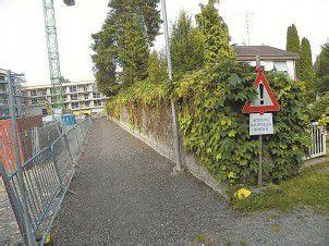 Gässele in Bregenz wartet auf Namen