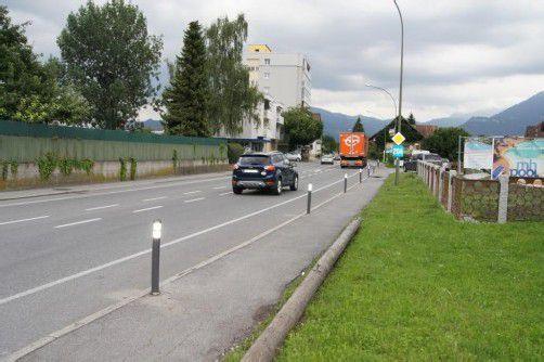 Nun ist der Rad- und Fußweg wieder frei. Foto: eh