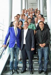 ORF zu Besuch im Medienhaus