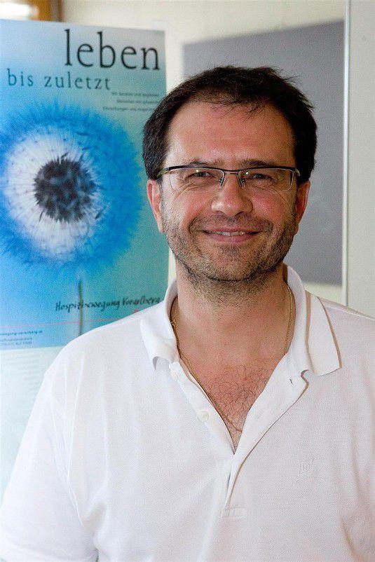 Obmann des Hospizförderkreises: Dr. Peter Grabher vn/paulitsch