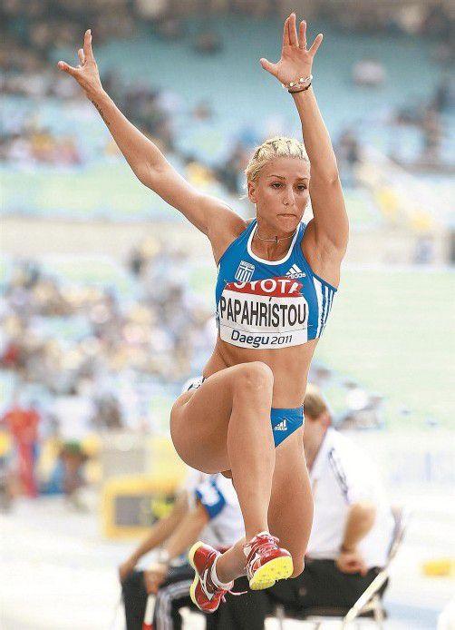 Paraskevi Papachristou: Kommentar kostet Olympiastart. Foto: epa