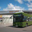 Elektro-Bus im Testeinsatz