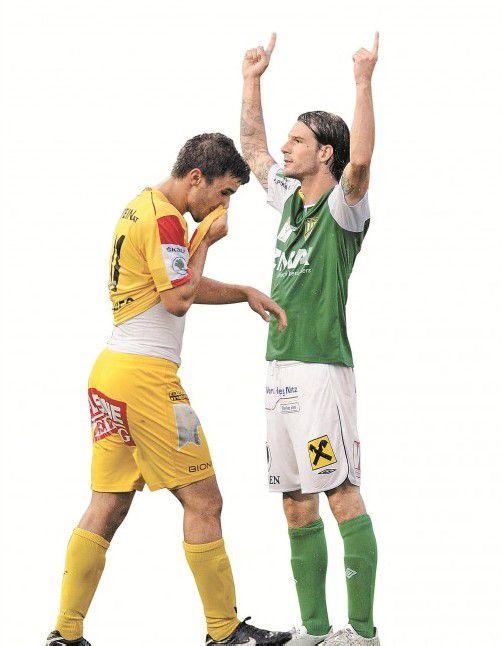Patrick Salomon feierte mit zwei Toren einen idealen Einstand.