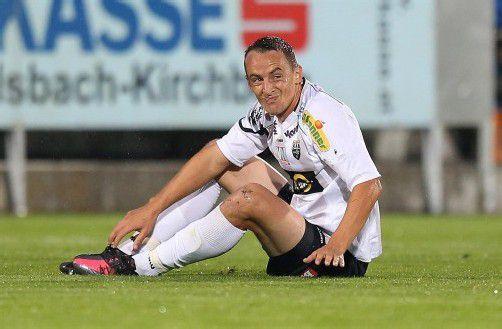 Pechvogel Hannes Aigner – der Stürmer fällt längere Zeit aus. Foto: gepa