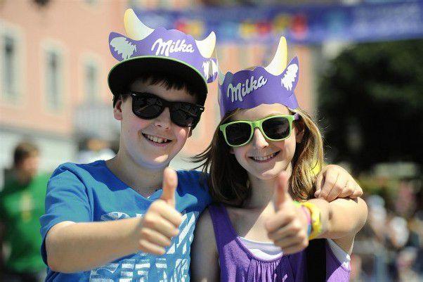 Publikumsrenner: 34.000 besuchten das Bludenzer Schokofest.