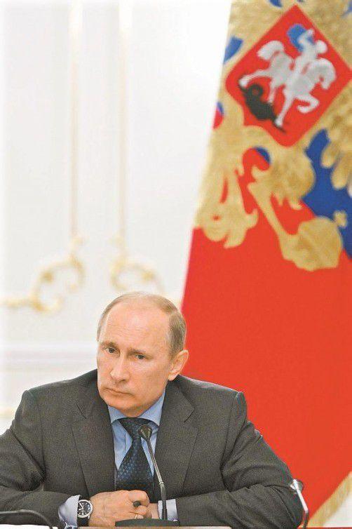 Putin unterzeichnete die WTO-Mitgliedschaft. Foto: DAPD