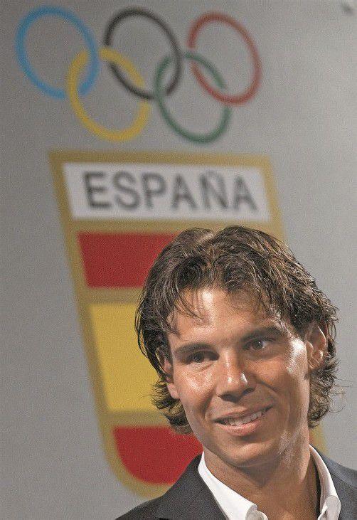 Rafael Nadal muss die Sommerspiele auslassen. Foto: ap
