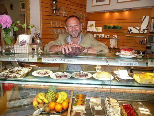Rainer Troy sorgt mit hochwertigen Rohstoffen für ein gesundes Vergnügen. Fotos: Marlene Matt