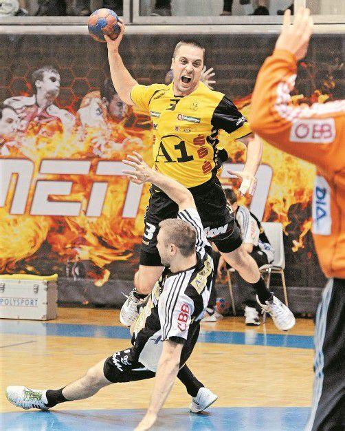 Risto Arnaudovski verlässt die Bregenzer. Foto: apa