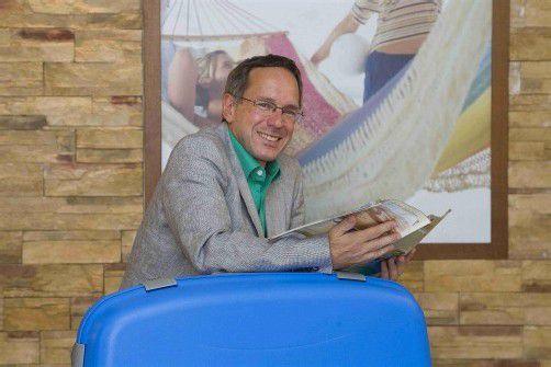 Roland Geiger kann auf 35 Jahre Erfahrung in der Reisebranche verweisen. Foto: VN/Paulitsch