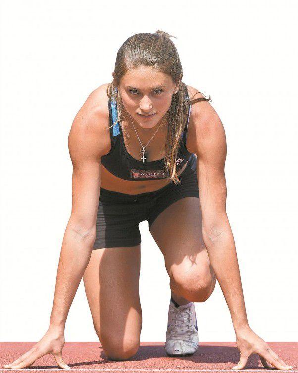 Rosalie Tschann ist heute bei der U-20-WM im 100-Meter-Lauf im Einsatz. Foto: steurer