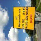 Lustenau: Bau an L 42 sorgt für Straßensperre