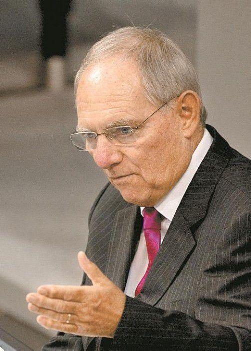 Schäuble ist auch gegen weitere Zugeständnisse an Athen. AP