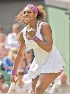 Brüste sind für Serena Williams kein Hindernis