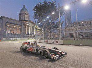 Ärger um den Singapur-GP