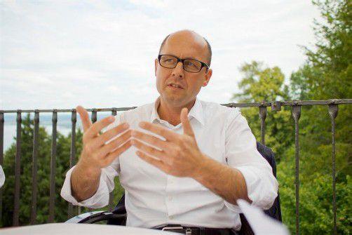Sommergespraech mit SPOE-Chef Michael Ritsch