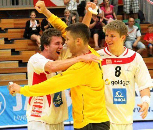 Sport Handball Unter 18 EM Bregenz und Hard Österreich vs. Norwegen