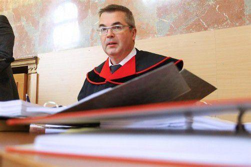 "Staatsanwalt Bolter: ""Auf hohem Niveau gepokert."" Foto: VN/HB"
