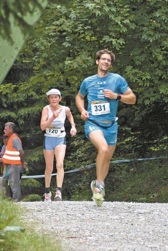Stefan Keckeis lieferte ein starkes Rennen ab und durfte sich im Ziel über Platz drei freuen. Fotos: VN/J. Schwald