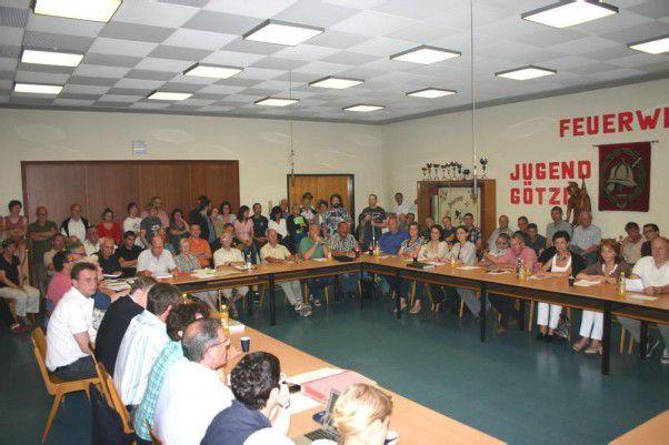 Stieß auf großes Interesse: die jüngste Rathaussitzung im Feuerwehrhaus und dessen Standort in Götzis. Foto: PST