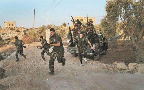 Syrien wird von immer schwereren Kämpfen erschüttert. Foto: AP