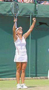 Wimbledon ist fast so wie zu Hause
